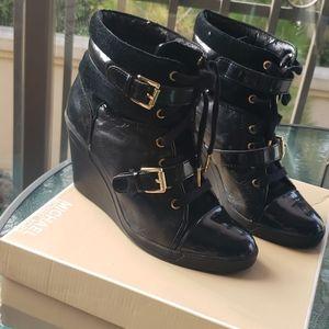 Michael Kors Skid Wedge Sneaker Bootie
